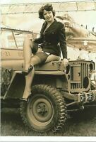 WW II   Usa  Photo  ** ..Pin Up Girl ,, **