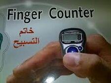 50 x Finger Ring Digital Tasbeeh Tasbih Tally Counter