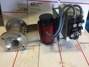"""New Watts Pneumatic Actuator PA 1000 Stainless Valve 3"""" Bailey Positioner AP4220"""