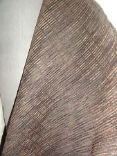 Brown patterned chenille Upholstery Fabric  140cm Wide