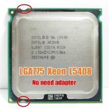 Intel Xeon L5408 2.13 GHz Quad-Core Processor Work on LGA775 No need Adapter