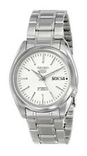 Seiko Automatic SNKL41 SNKL41K1 Men Day Date Stainless Steel Watch