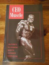 Jay Cutler CEO MUSCLE bodybuilding SIGNED muscle book