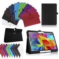 "High Quality Smart Leather Cover Stand Samsung Galaxy Tab 4 10.1"" T530 T531 T535"