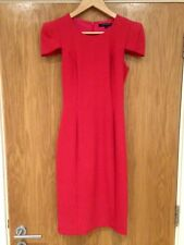 French Connection Woman's UK Size 10 Dark Pink Party Cocktail Dress RRP £75