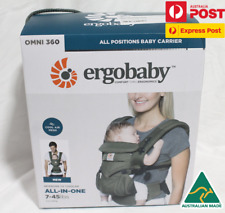 Ergobaby Omni 360 Cool Air Mesh Green BRAND NEW IN BOX Au Stock