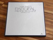 Pierre Boulez - 5lp Box-wagner-parsifal-allemand phonographe 2720 034