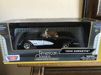 NEW 2013 TEXAS RANGERS CORVETTE CONVERTIBLE//MOTOR MAX//TOP DOG COLLECTIBLES