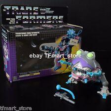 Original 1986 Transformers G1 Sharkticon Gnaw 100% Complete w/ Box VERY NICE