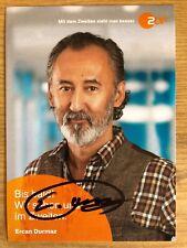 Ercan Durmaz AK ZDF Bettys Diagnose Autogrammkarte 2019 original signiert