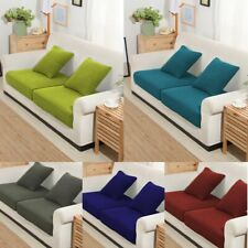 1/2/3/4 Seater Sofa Cushion Cover Couch Slipcovers Stretchy Replacement Protect
