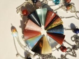 PENDOLINO divinazione radioestesia cristalloterapia magia incantesimi quarzo ecc