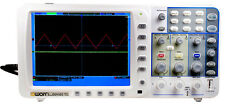 New Ultra thin 300Mhz OWON Oscilloscope SDS9302 3.2G 10M record point FFT VGA R