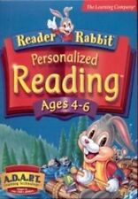 Reader Rabbit Personalized Reading Ages 4-6 Builds Confidence in Reading 2 Cd