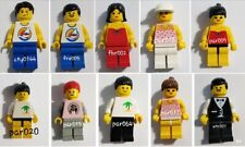 Lot of 10 - Paradisa, Classic Town, City -  Male & Female Minifigures