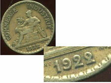 50 centimes   chambre de commerce 1922   ( VARIETE   le 2   )