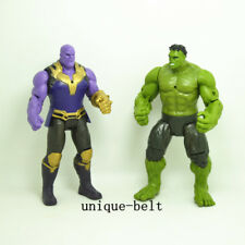 Lot 2 pcs New Avengers: Infinity War Hulk Thanos action figures Toy Kids Gift