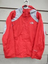 North Face Women's Medium HyVent Jacket Ski Snowboard Snowboarding Skiing Red