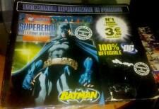 SUPEREROI LA COLLEZIONE UFFICIALE FASCICOLO 1 BATMAN DC COMICS 2009 NO STATUETTA