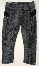 Athleta Women's Capri Patterned Leggings Size XS