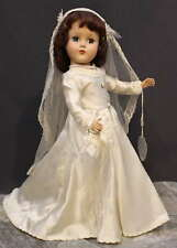 'NANCY  LEE'  BRIDE  DOLL -  HARD  PLASTIC