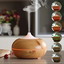 Ultrasonic Essential Oil Aroma 300 ML Diffuser Mist Humidifier LED Light Timer