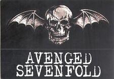 Avenged Sevenfold Heavy Metal Music Band Skateboard Stickers rock punk skate sk8