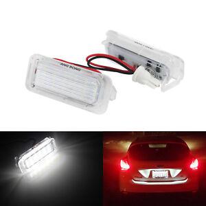 Eclairage de plaque LED numero Plaque Lampe pour Ford Focus Mondeo C-Max Galaxy