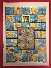 MC26 JACOVITTI - POP JAC, GIUSEPPE 38x28 cm fumetto comics ritaglio clipping