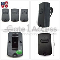 FOR GTO RB741 GATE OPENER, MIGHTY MULE FM135 TRANSMITTER REMOTE CONTROL 3 Pak