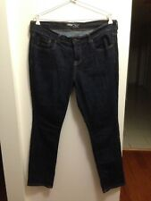 "OLD NAVY ""The Flirt"" NWOT Sz12Short Women's Dark Blue Jeans Stretch COTTON Blend"