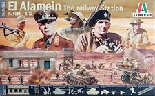 El Alamein Battle WWII 'AT THE RAILWAY STATION' Plastic Kit 1:72 Model 6181