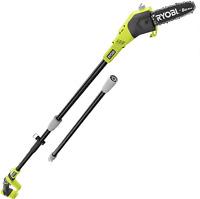 Cordless Pole Saw 9.5 Ft Adjustable 18 Volt Trimmer Pruner Tree Power Tool Ryobi