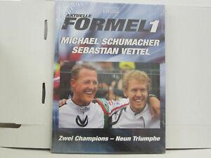 Buch Aktuelle Formel 1, Schumacher / Vettel, 2 Champions - 9 Triumphe, deutsch