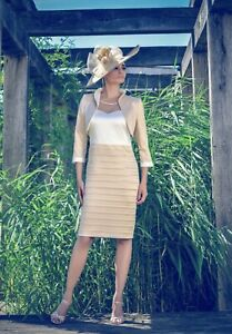 Luis Civit Mother of the Bride Dress & Jacket - Size 8