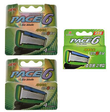 Dorco Pace6 Six Blades 10 Cartridges Refills BRAND NEW SEALED