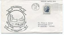 1966 USNS Point Barrow Military Sea Transport Long Beach Polar Antarctic Cover