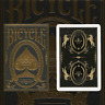 Bicycle Majestic Deck playing cards  by USPCC heritage 125 black gold elegant