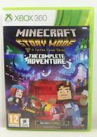 Minecraft Story Mode The Complete Adventure Microsoft Xbox 360 Near Mint PAL UK