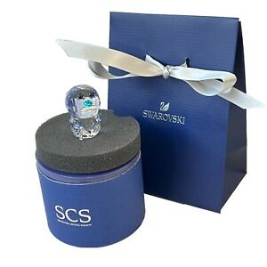 Authentic Swarovski Grandpa SCS Crystal Penguin Figure Boxed