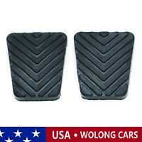 2X Brake Clutch Pedal Pad Covers Fit for Hyundai Accent Sonata Santa FE Elantra