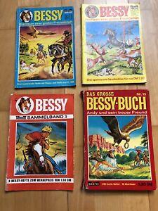 Bessy Buch 15, Sammelband ohne Nummer, 52, Heft 11 Bastei Konvolut