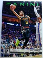 2018 18-19 Panini Chronicles Green Trae Young Rookie RC #131, Atlanta Hawks
