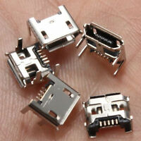 Type B Micro USB Female 5 Pin Jack Port Socket Connector Repair Parts 10Pcs