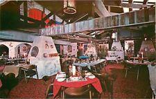 Aspen Colorado~Copper Kettle~Restaurant Interior~1950s Postcard
