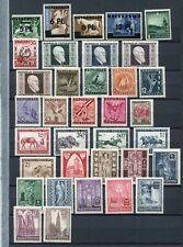 AUSTRIA 1945-46 MNH Lot 35 Stamps