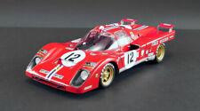 Ferrari 512 M #12 Le Mans 1971 1/18 scale model by ACME slight box damage