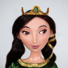 Disney Merida Brave Queen Elinor Doll Articulated Dress Crown