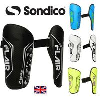 SONDICO Branded Football Shin Pads/Guards Boys/Junior/Children's/Mens Slip in on