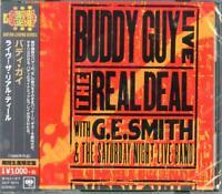 BUDDY GUY-LIVE! THE REAL DEAL-JAPAN CD Ltd/Ed B63